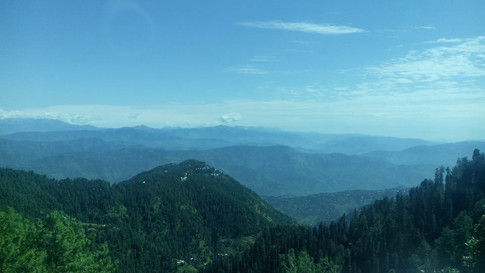 View from Ayubai Donga Gali Trek