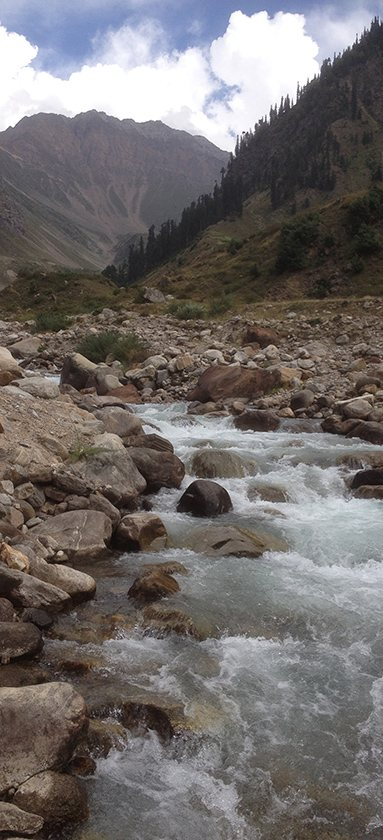 Fresh water stream in Naran