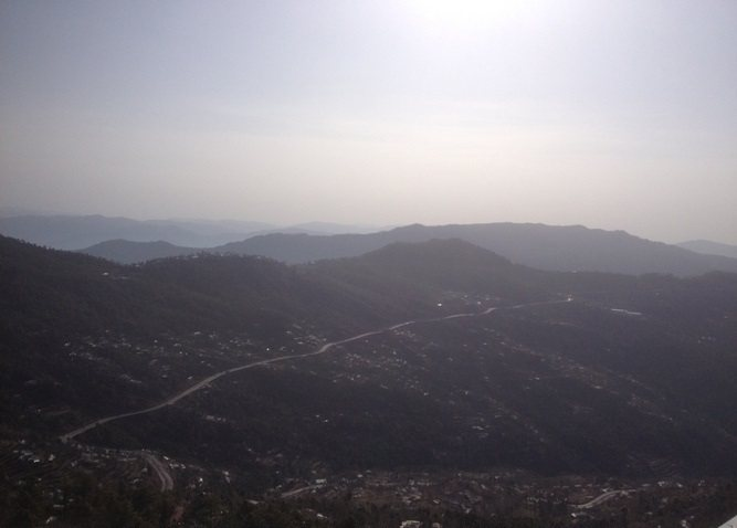 View from Kashmir Point
