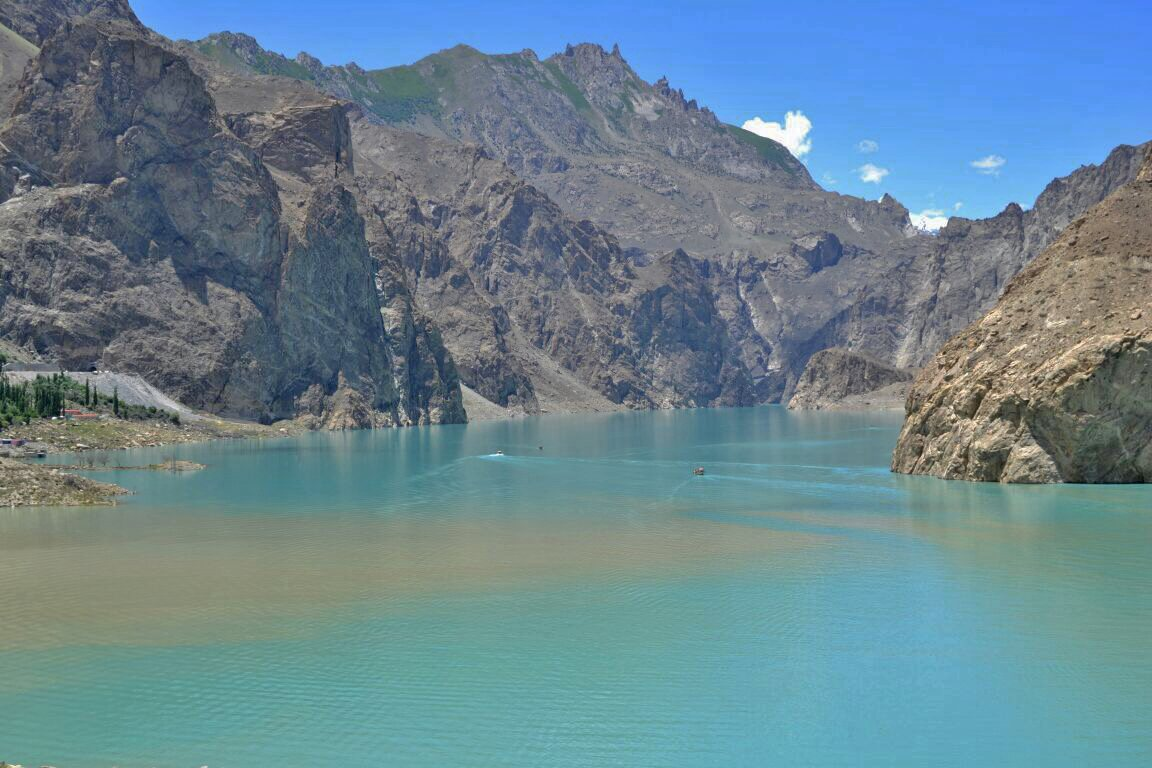 Beautiful View of Atta Abad Lake