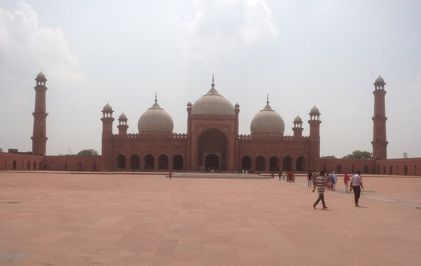 Badshahi Mosque Main Prayer Chamber