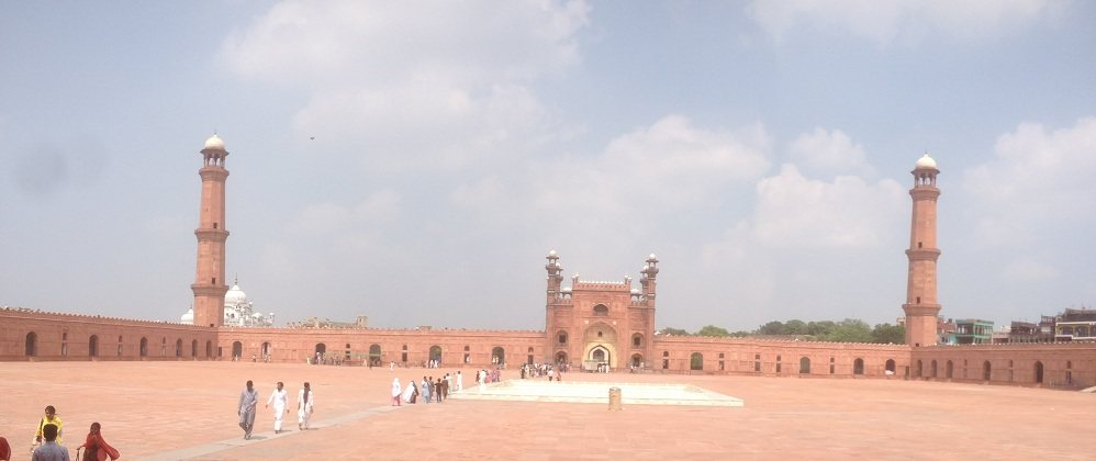 Badshahi Mosque Main Enterance