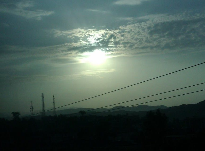 Evening in Murree