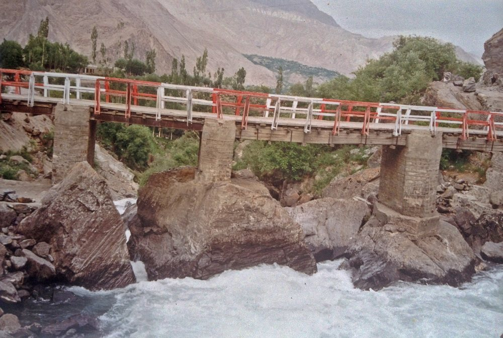 Bridge in Kachura Village Skardu