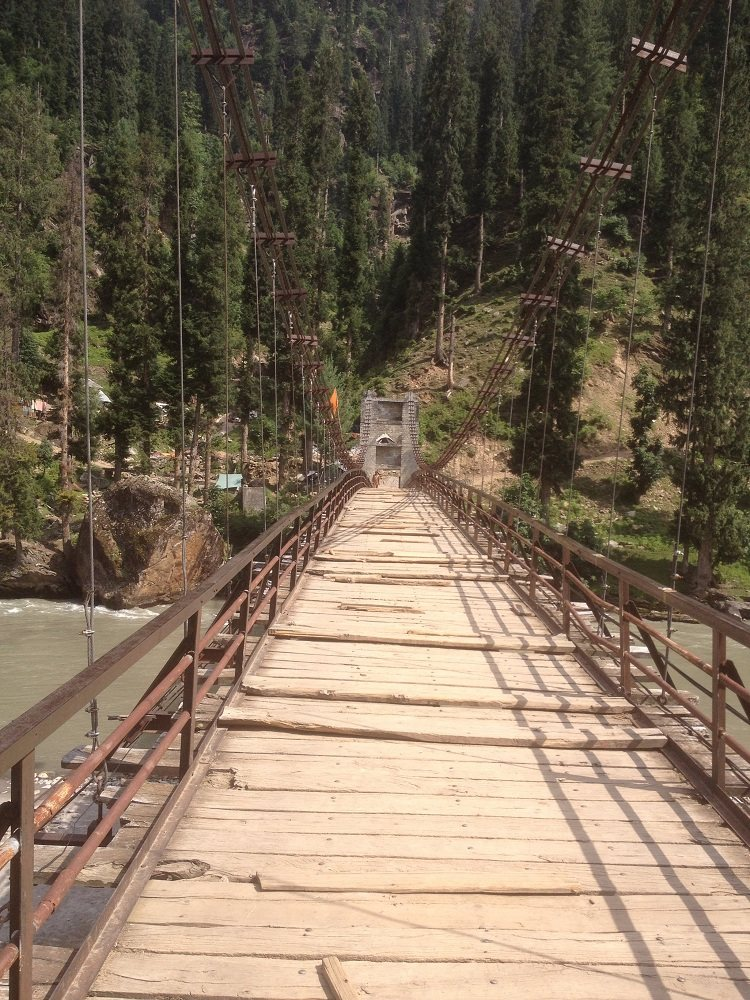Bridge over Neelum River Kel