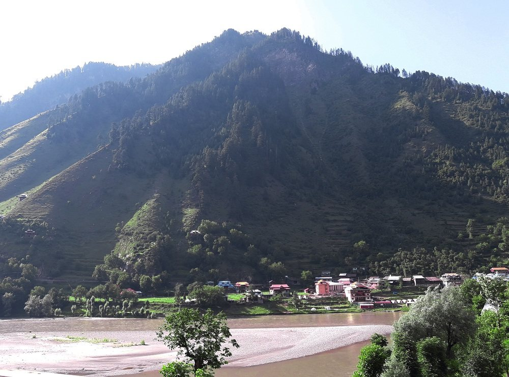 View of Sharda Valley