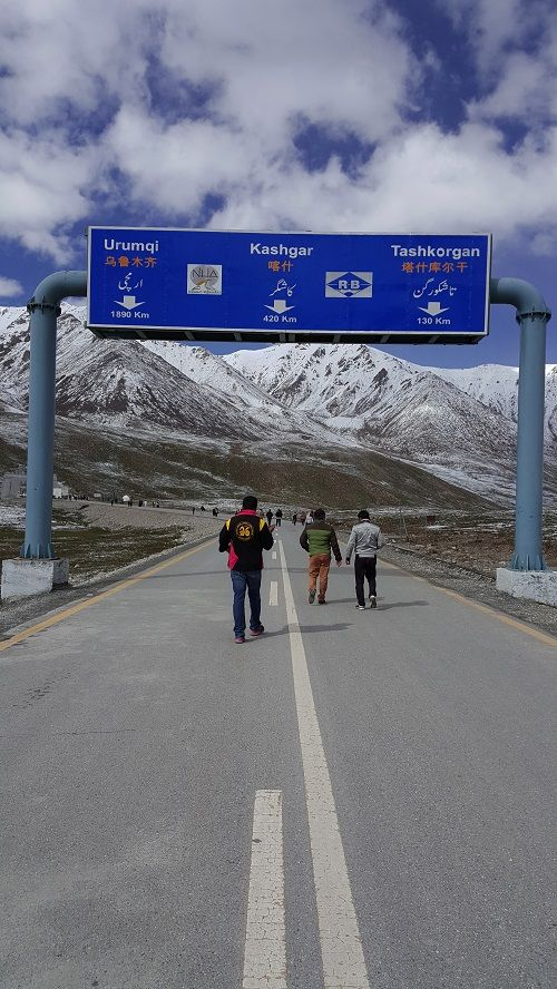 Khunjrab Pass China Border Crossing