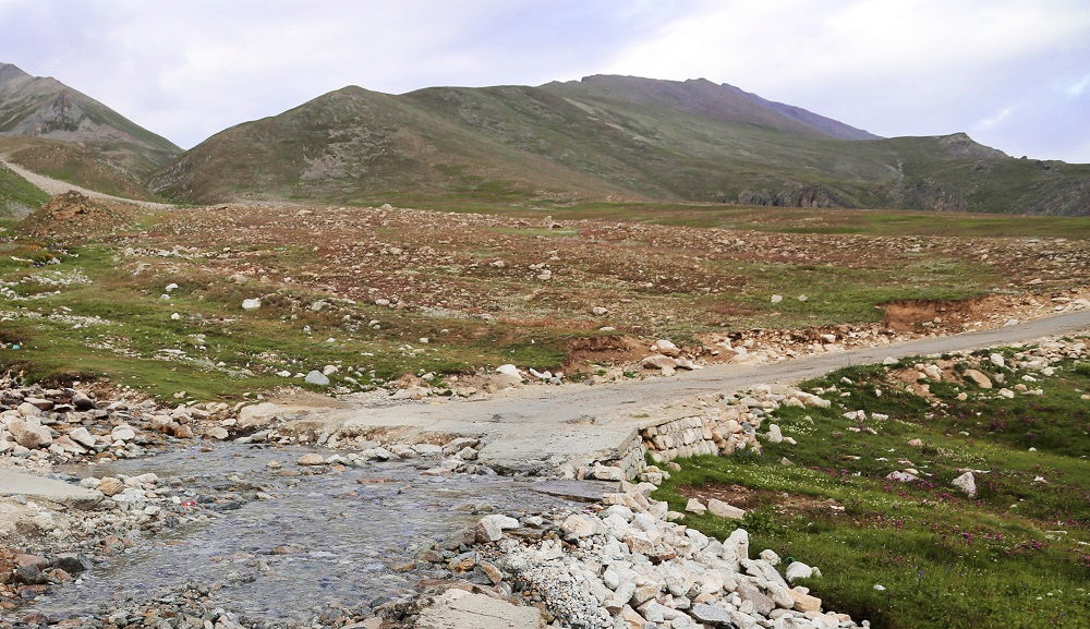 Damaged Roads in Deosai Plains