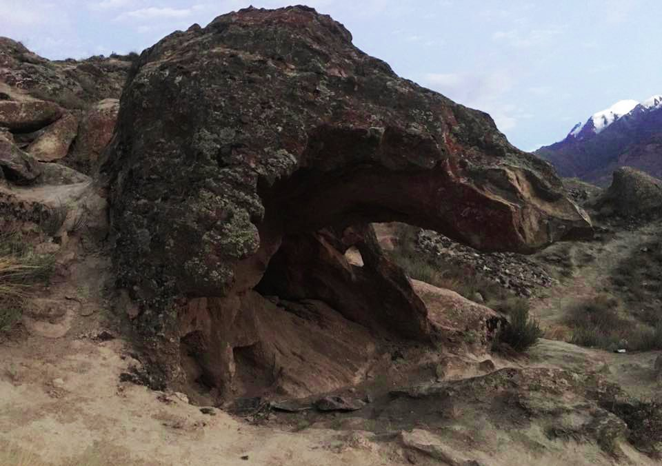 Eagle Face Like Rock in Duikar