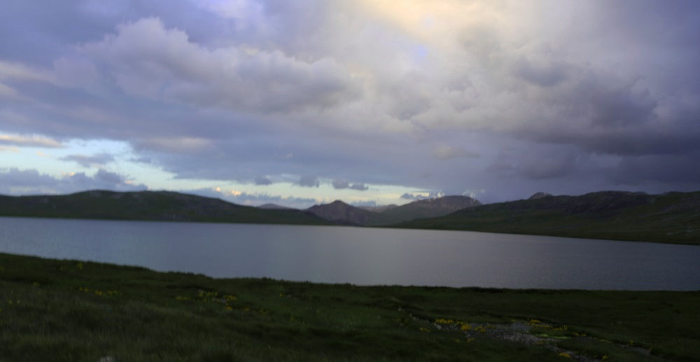 Evening at Sheosar Lake