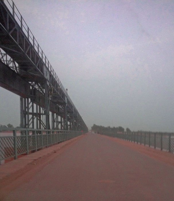 Bridge over the Chenab River