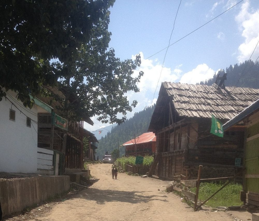 Hilmat village in Neelum Vally