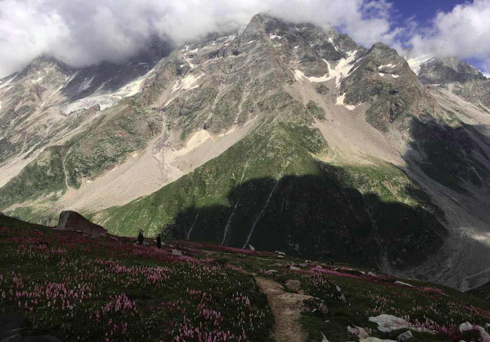 Beautiful Ansoo Lake Trek view