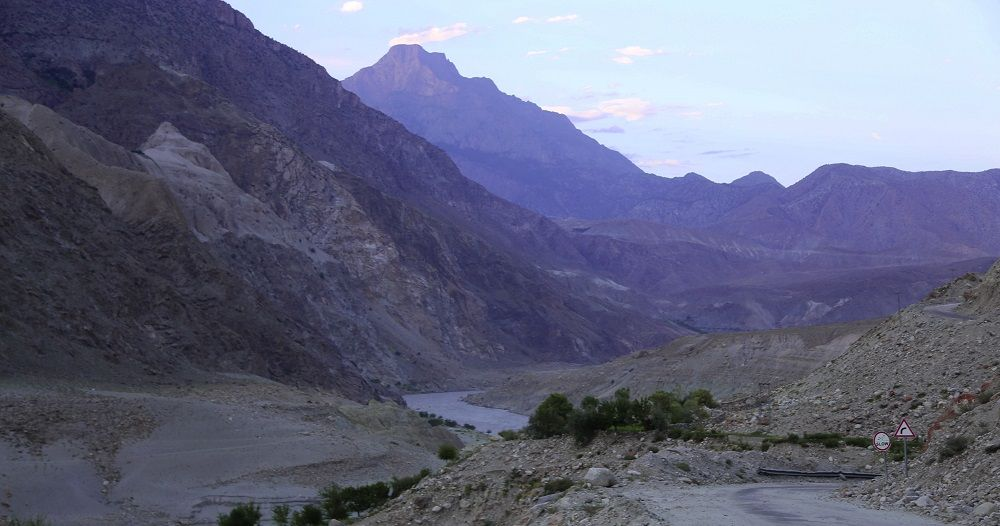 Indus River in Diamer