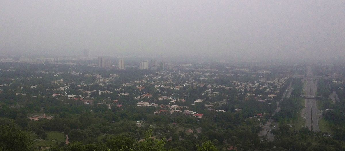 Islamabad View from Daman-e-Koh