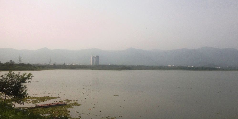 Islamabad View across Rawal Lake