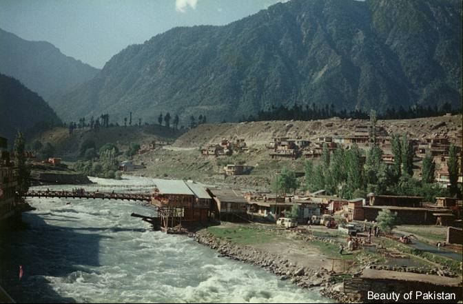 Swat River in Kalam