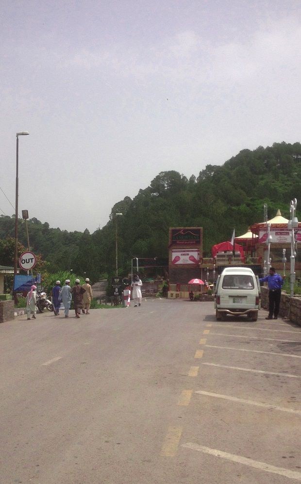 Passing through Monal