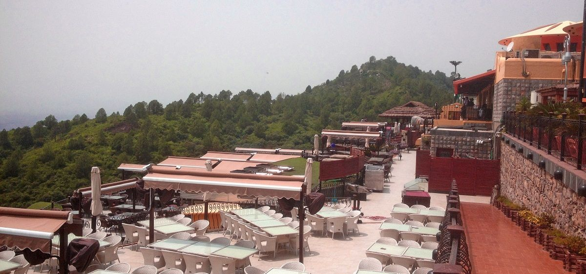 Dinning in Monal with Islamabad View
