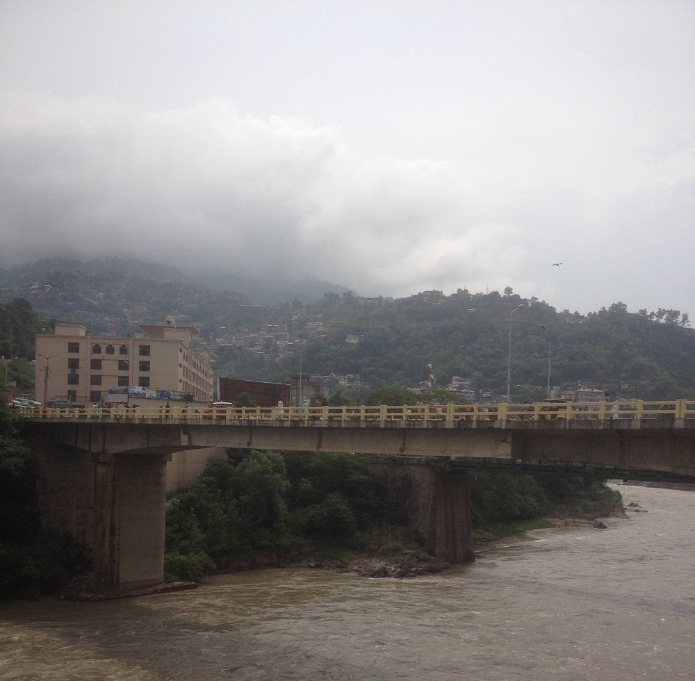 Bridge over Neelum River Muzzafarabad