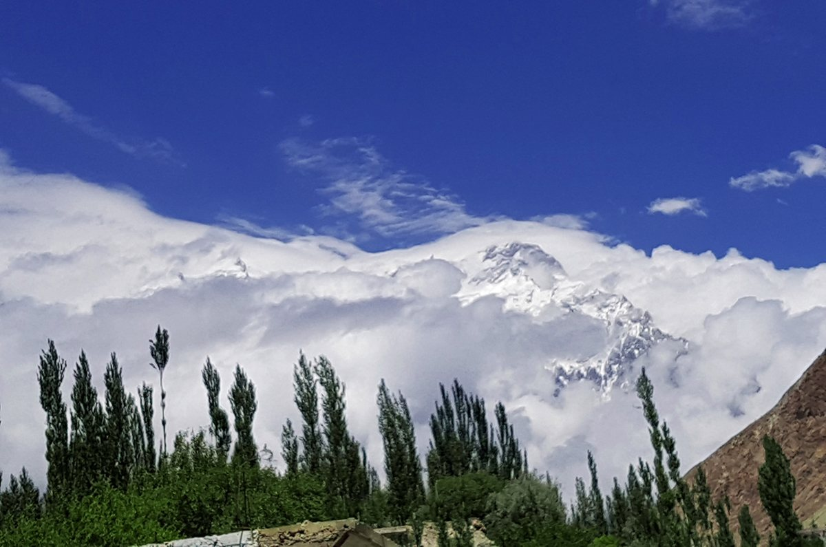 Nanga Parbat in Clouds