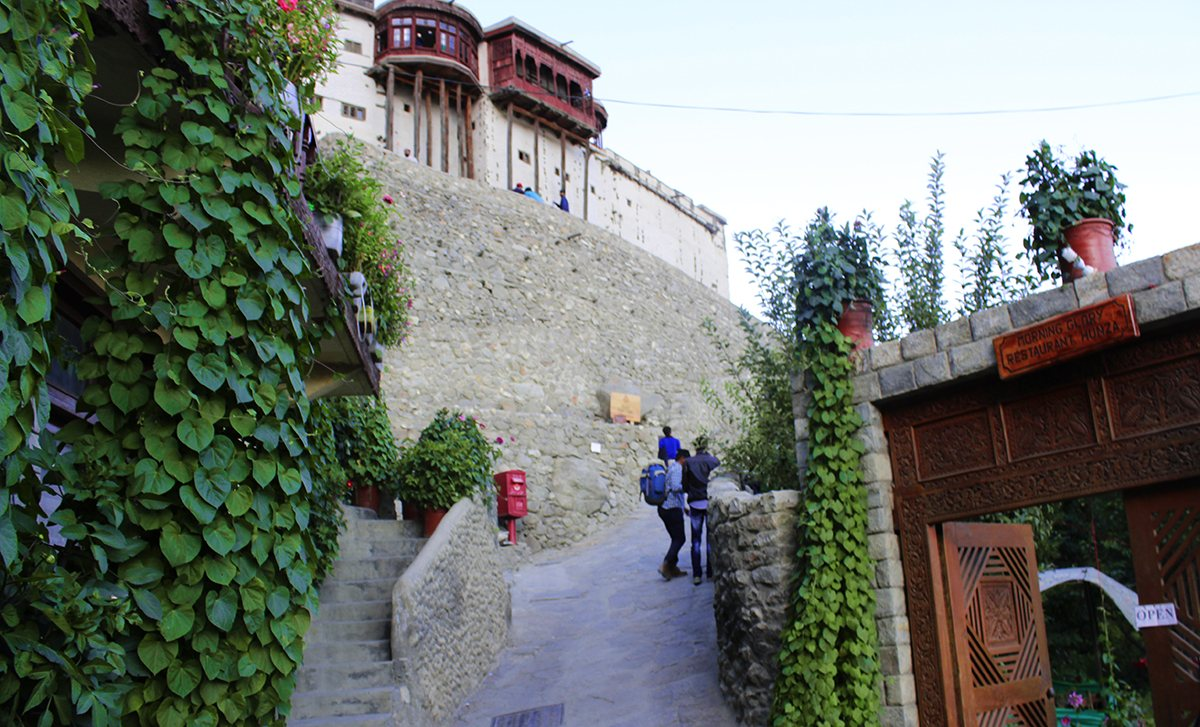 Passage to Baltit Fort