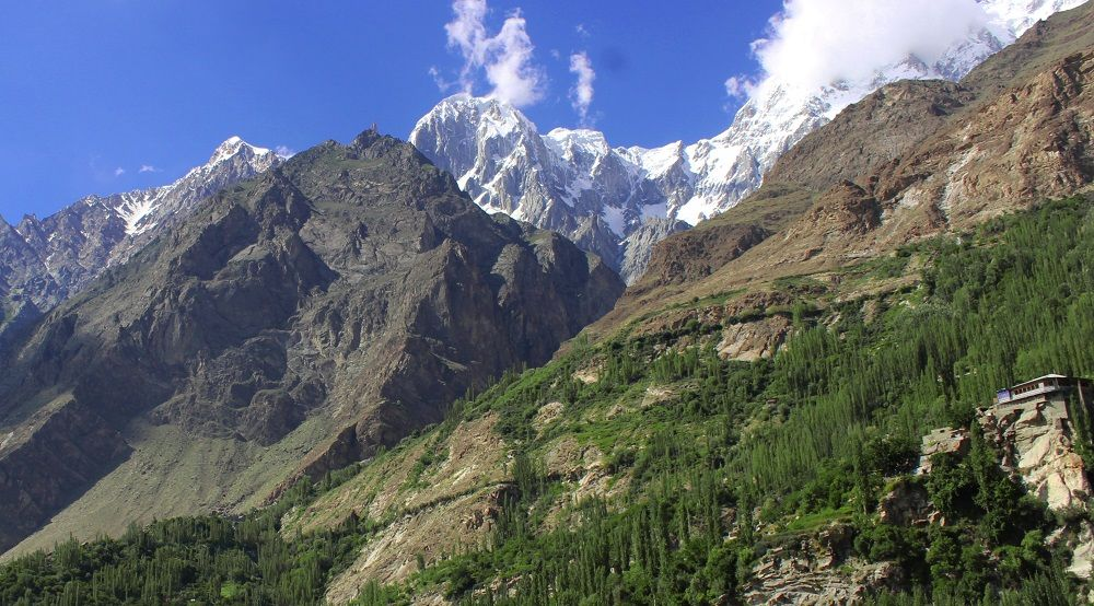 Hunza Peak from Altit Fort