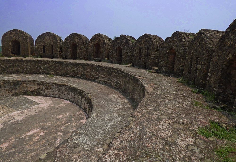 Army Platform in Rohtas Fort