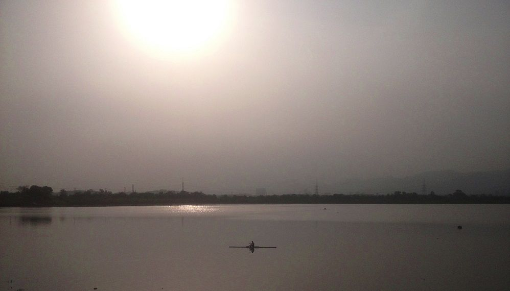 Getting Dark in Rawal Lake