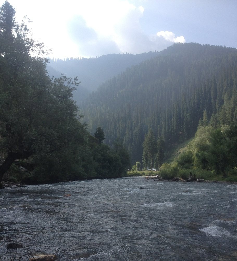 Neelum River in Taobat