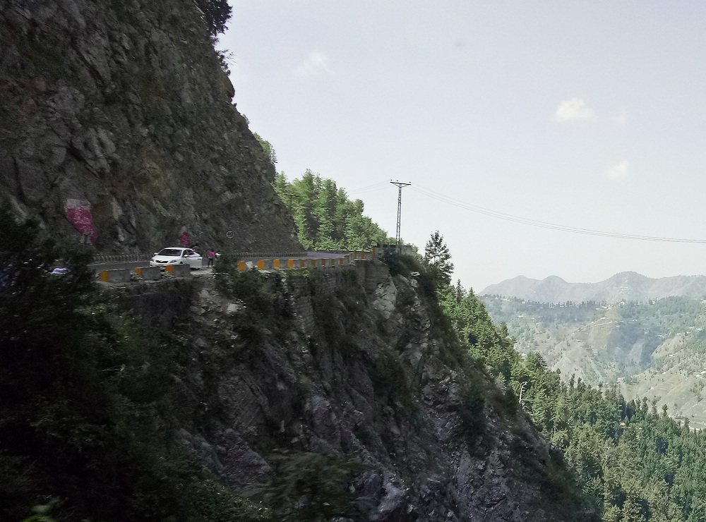 Road to Nathia Gali