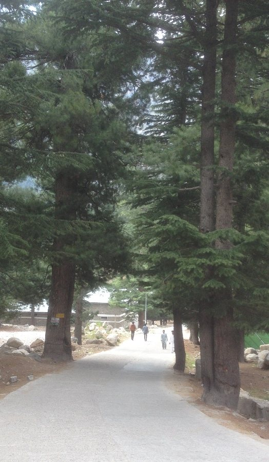Passage leading to Saif ul Maluk Lake