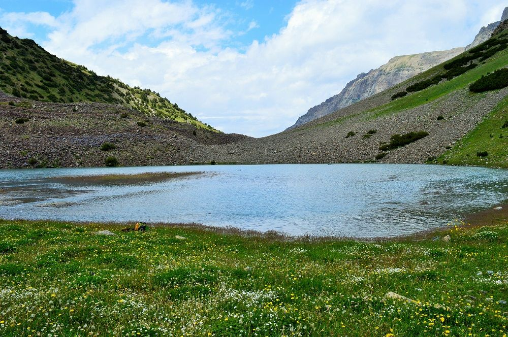 Shukargah Lake an attractive view