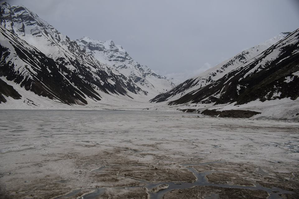 Saif-ul-Maluk Lake beginning of Summer Season