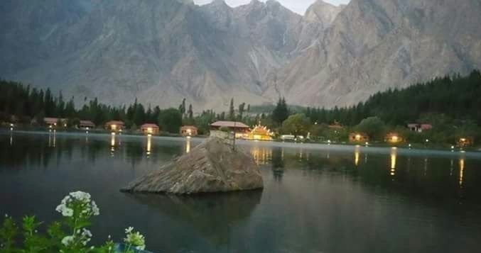 Shangrila Lake in Evening