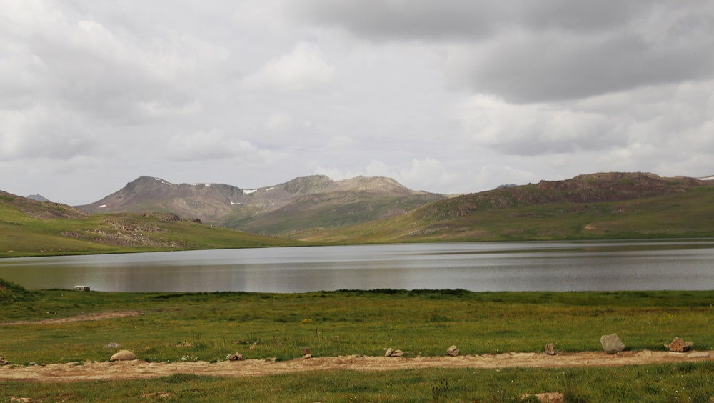 Sheosar Lake among Wilds