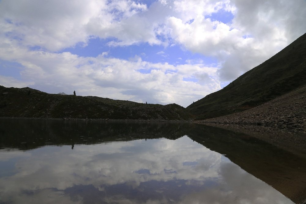 Mirror View of Rama Lake