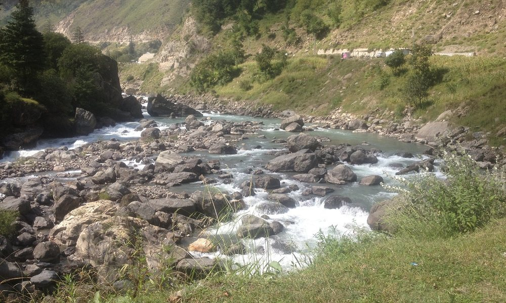 Streams in Kaghan