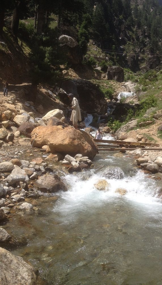 Stream near Keran