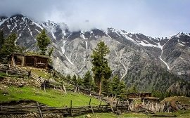 Mountain View from Fairy Meadows
