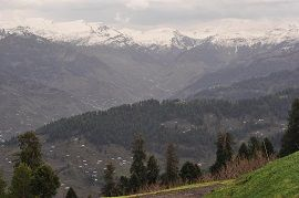 Toli Pir in Winter