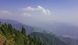 Beautiful view near Toli Pir