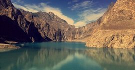 Attabad Lake outcome of a Disaster