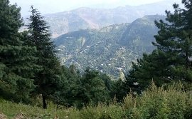 Ayubia View from Mushkpuri Top