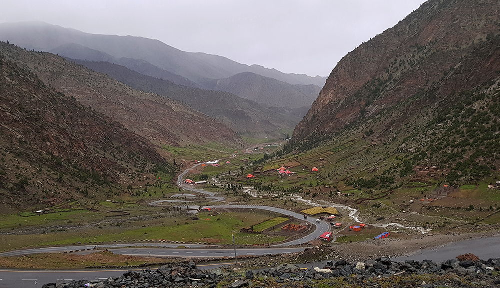 Down Road to Chilas from Babusar Top
