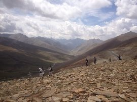 Road toward Chilas from Babusar Pass