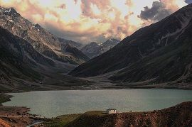 Cloudy view at Saif-ul-Maluk