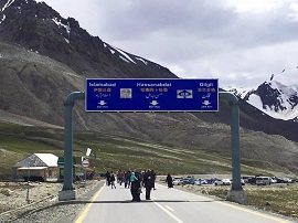 Beginning of KKH at Khunjerab Pass