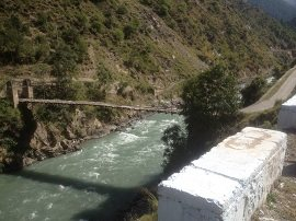 Hanging Bridge over Kunhar