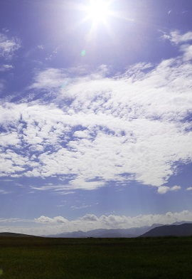 Clouds in Deosai Plains